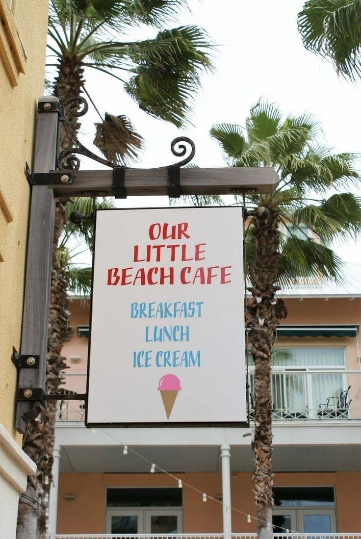 Our Little Beach Cafe Panama City